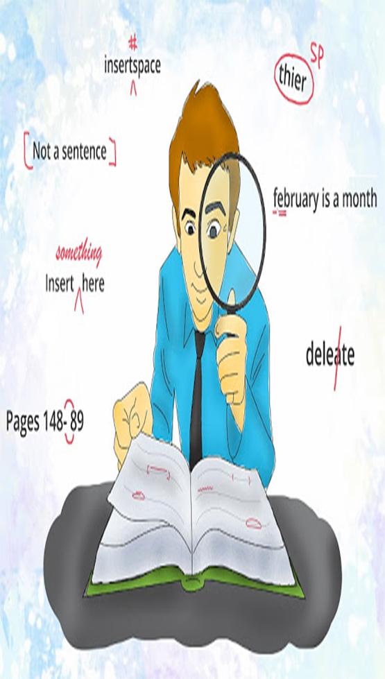 فرآیند ویرایش مقاله و بازخوانی مقاله قبل از سابمیت